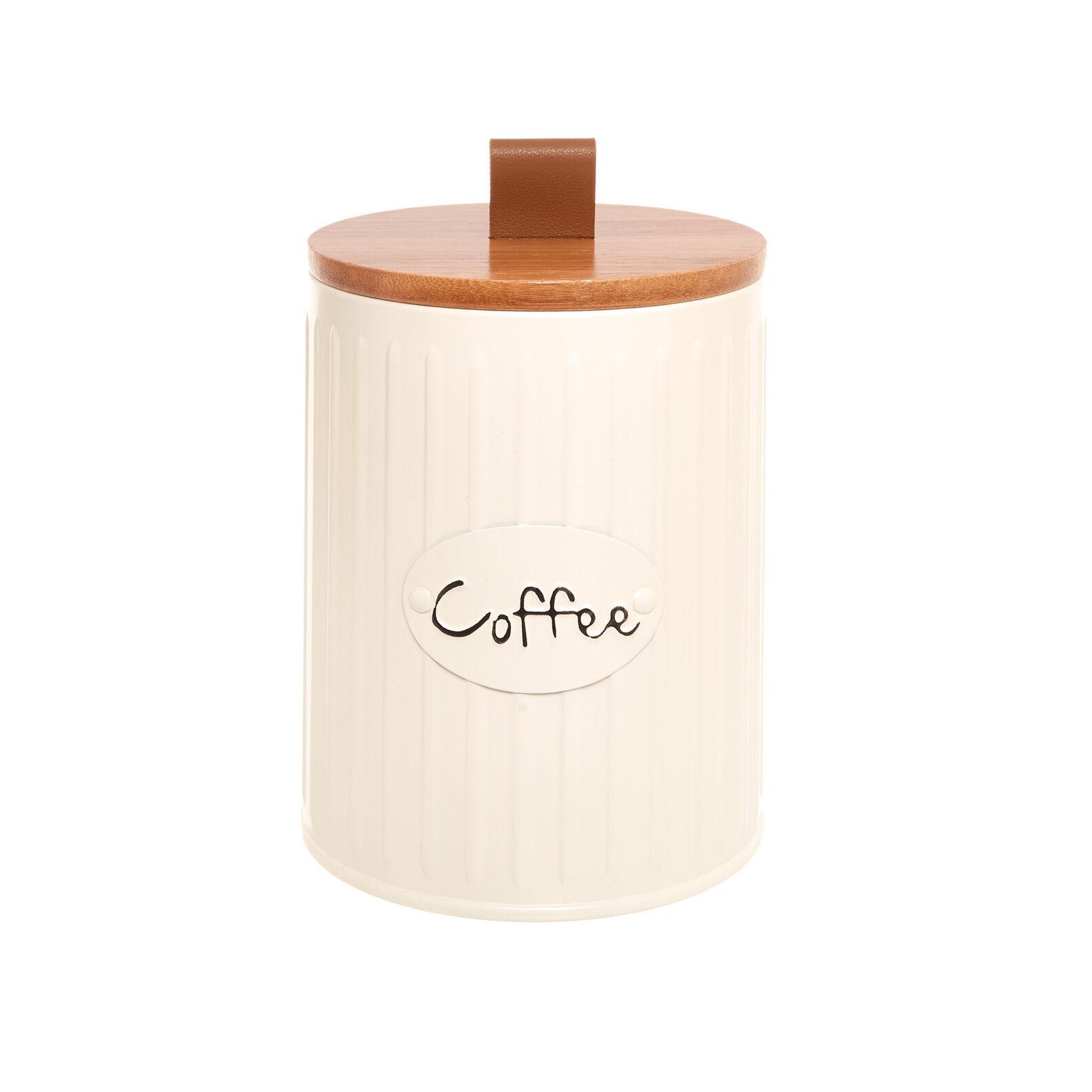 Enamelled metal Coffee tin