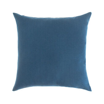 Solid colour 100% linen cushion