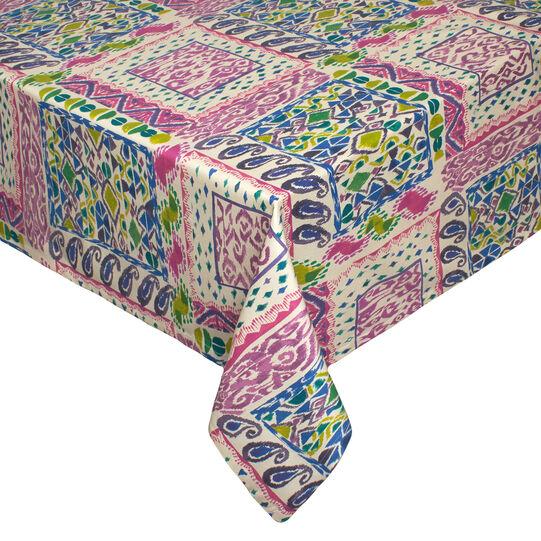 Tovaglia puro cotone idrorepellente patchwork