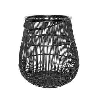 Handmade rattan lantern