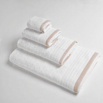 Asciugamano con lavorazione dots a rilievo Portofino