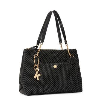 Koan curled-effect shopping bag