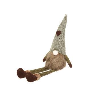 Decorative sitting gnome soft toy