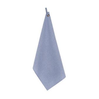 Striped tea cloth