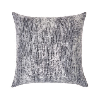 Cushion with foil print