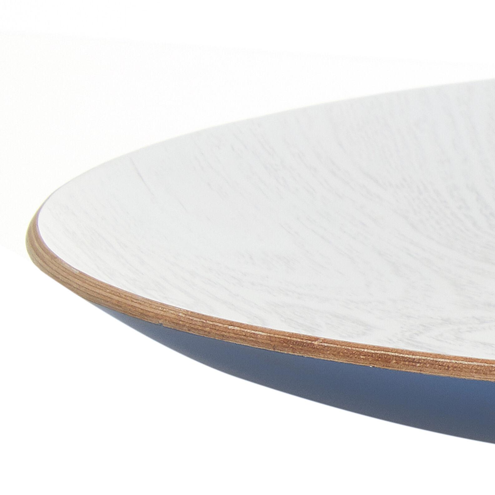 Centrotavola legno di salice dipinto
