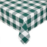 100% cotton tablecloth with jacquard weave