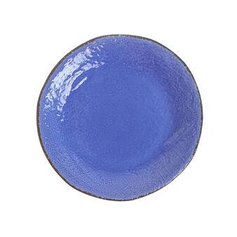 Piatto piano ceramica artigianale Preta