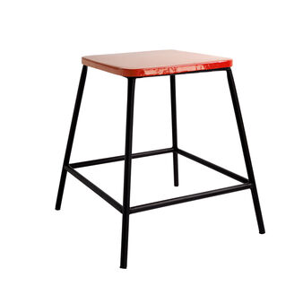 Gunta stool/coffee table in iron