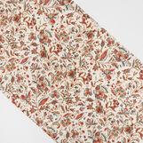 100% cotton table runner with vintage print