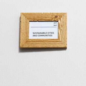 Portafoto legno abete del Cadore