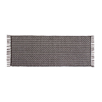 Kitchen rug with ethnic pattern