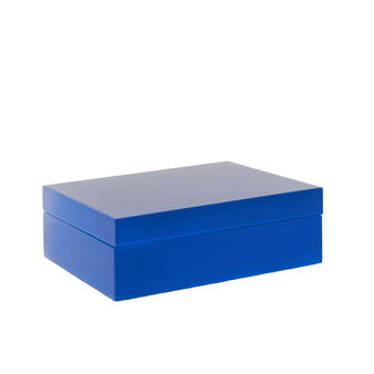 Polished lacquered jewellery box