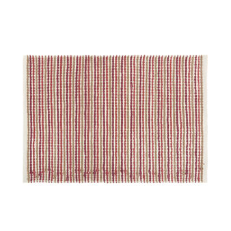 Micro cotton striped bath mat