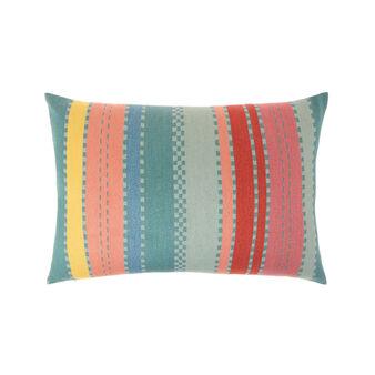 Cuscino misto lino a righe 35x55cm