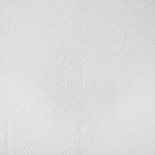 Cotton bedspread with geometric motif