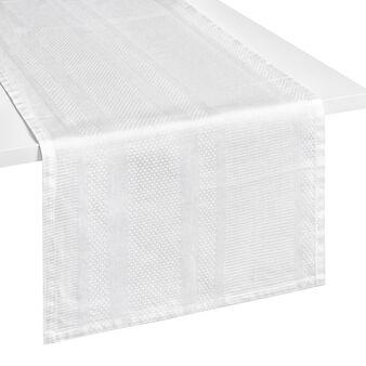 Zefiro 100% Egyptian cotton jacquard table runner