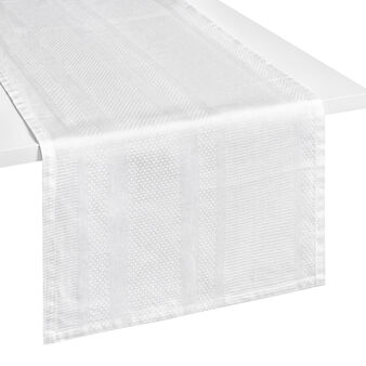 Zefiro 100% Egyptian cotton jacquard table runner
