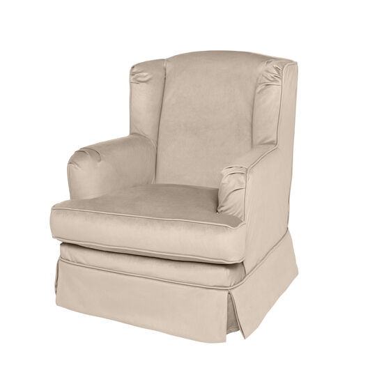 Bergère armchair with removable covers