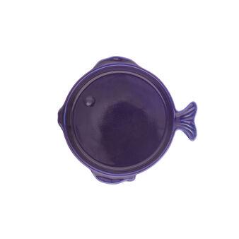 Piattino stoneware a pesce