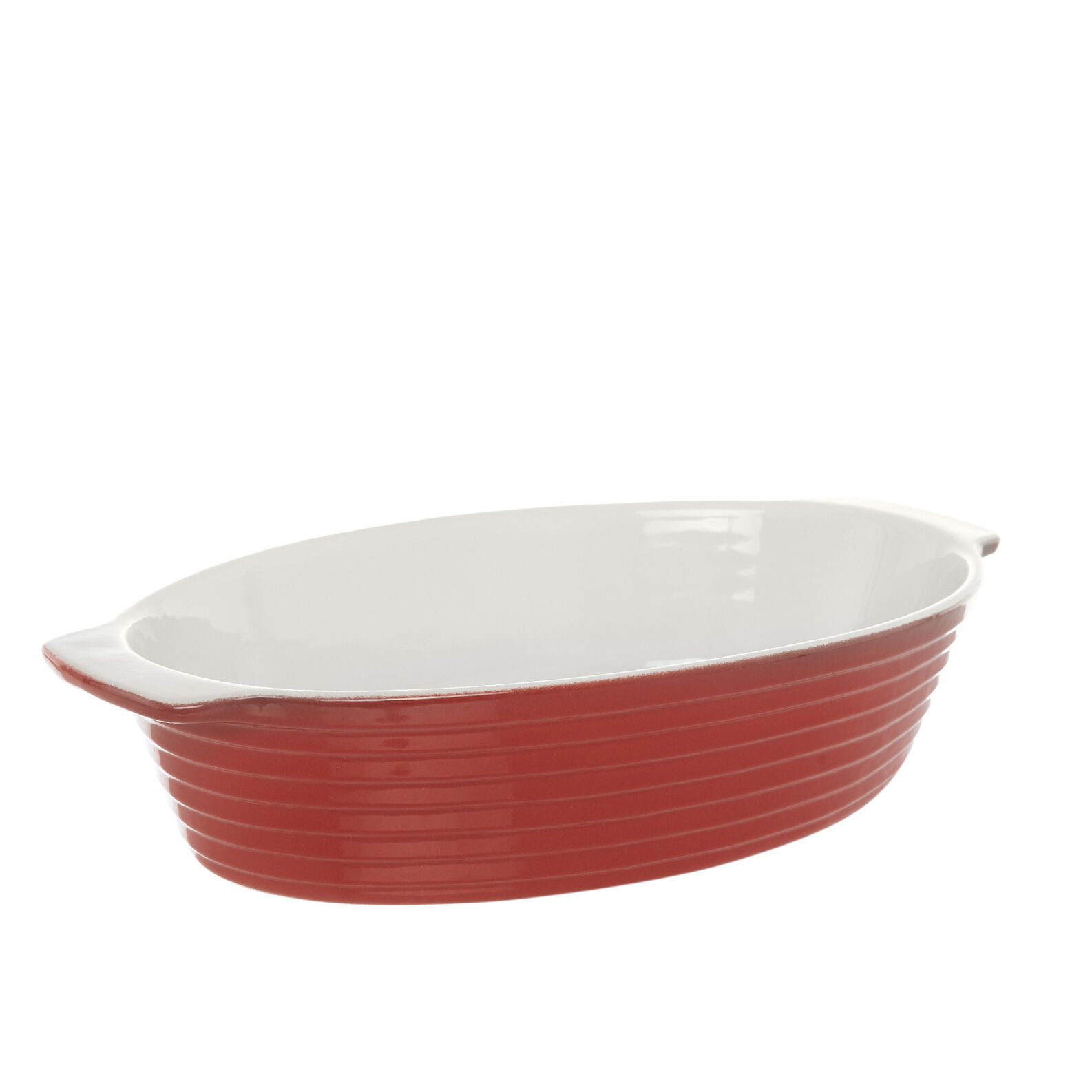New bone china oval oven dish