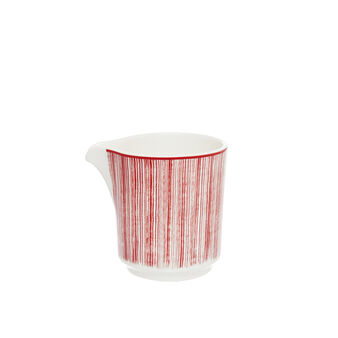 Magenta milk jug new bone china.