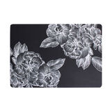 PVC table mat with flower design
