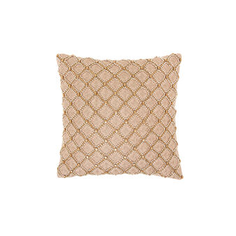 Cushion with bead applications 45x45cm