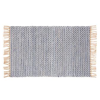 Tappeto juta e cotone fatto a mano