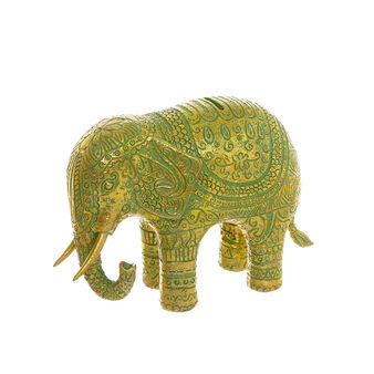 Indian elephant piggy bank