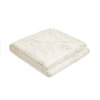 Bedspread in 100% cotton with ornamental motif