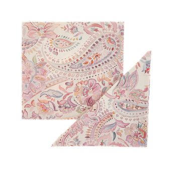 2-pack napkins in 100% cotton with paisley print