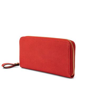 Koan garnet-effect wallet