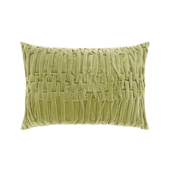 Woven velvet cushion 30x50cm