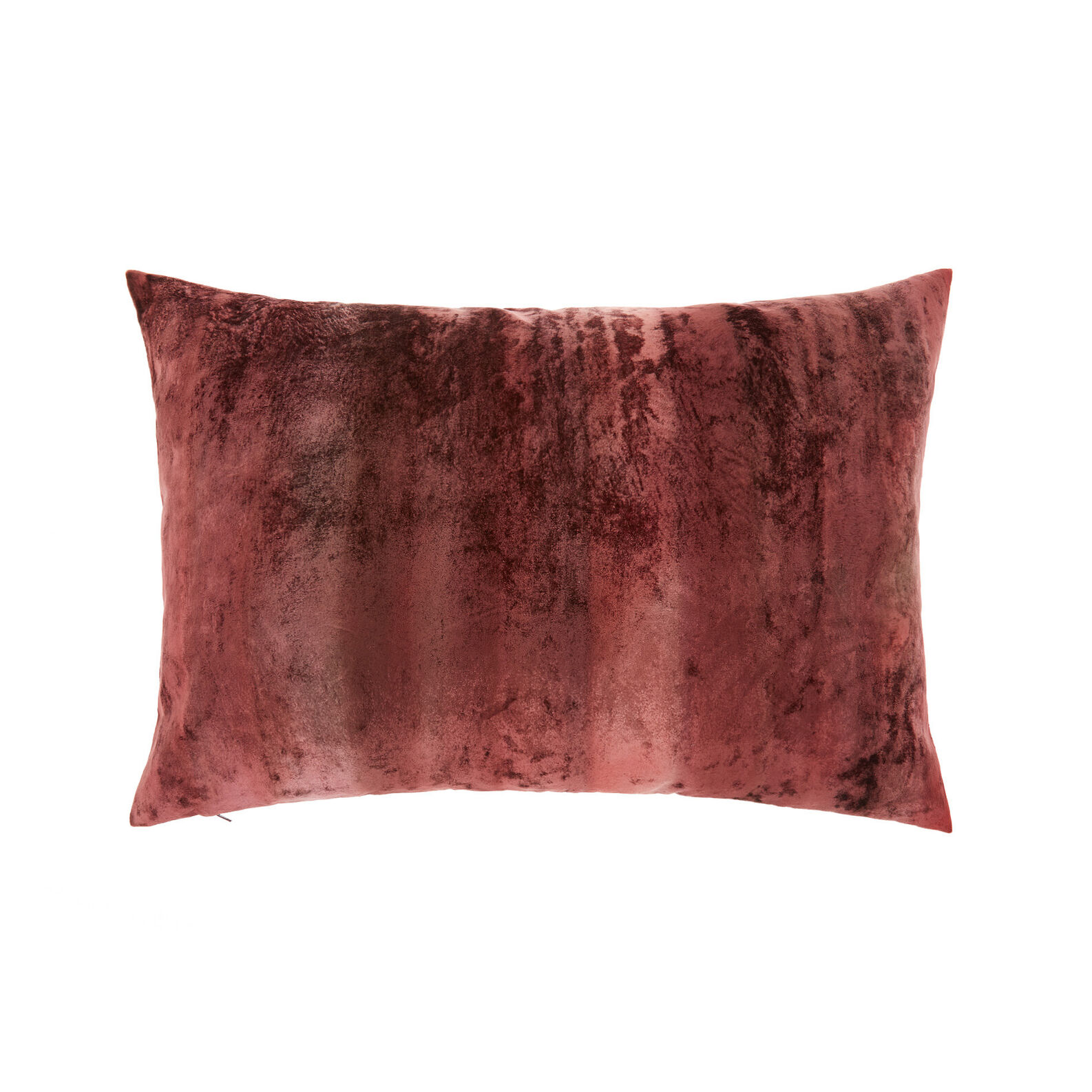 Faded velvet cushion (35x55cm)