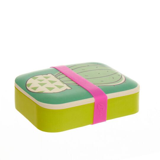 Lunch box cactus in fibra di bambù - coincasa
