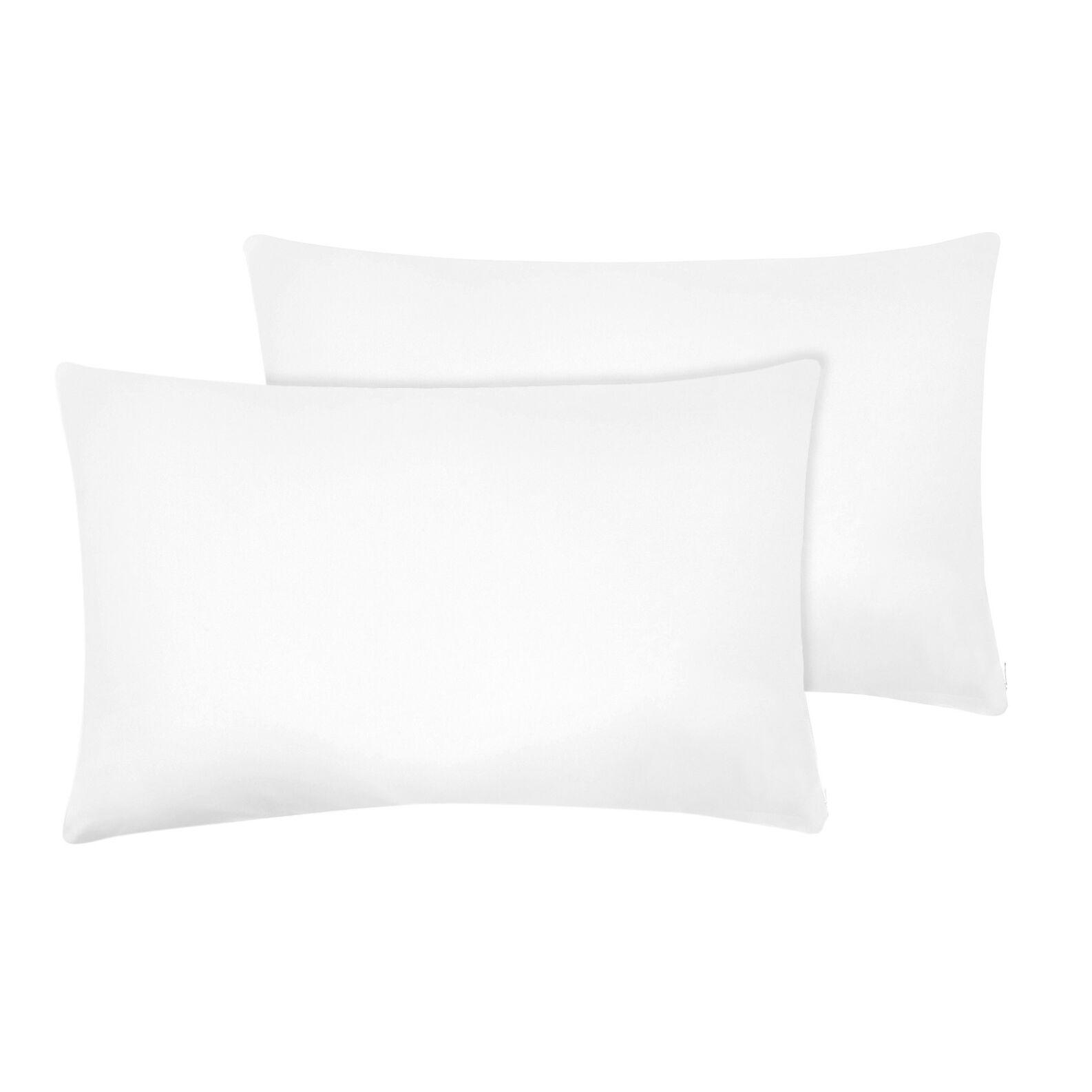Pair of 100% cotton pillows