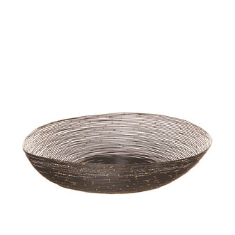 Decorative iron wire bowl