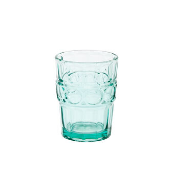 Ground glass colored paste glass