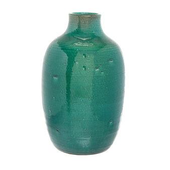 Vaso artigianale in ceramica portoghese colorata