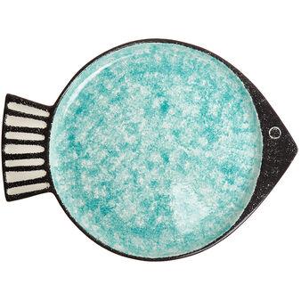 Piatto da portata ceramica a pesce