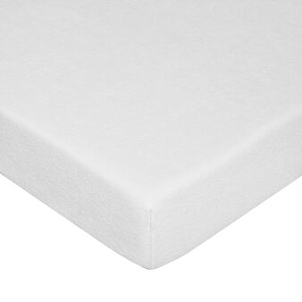 Mattress cover in jersey terry