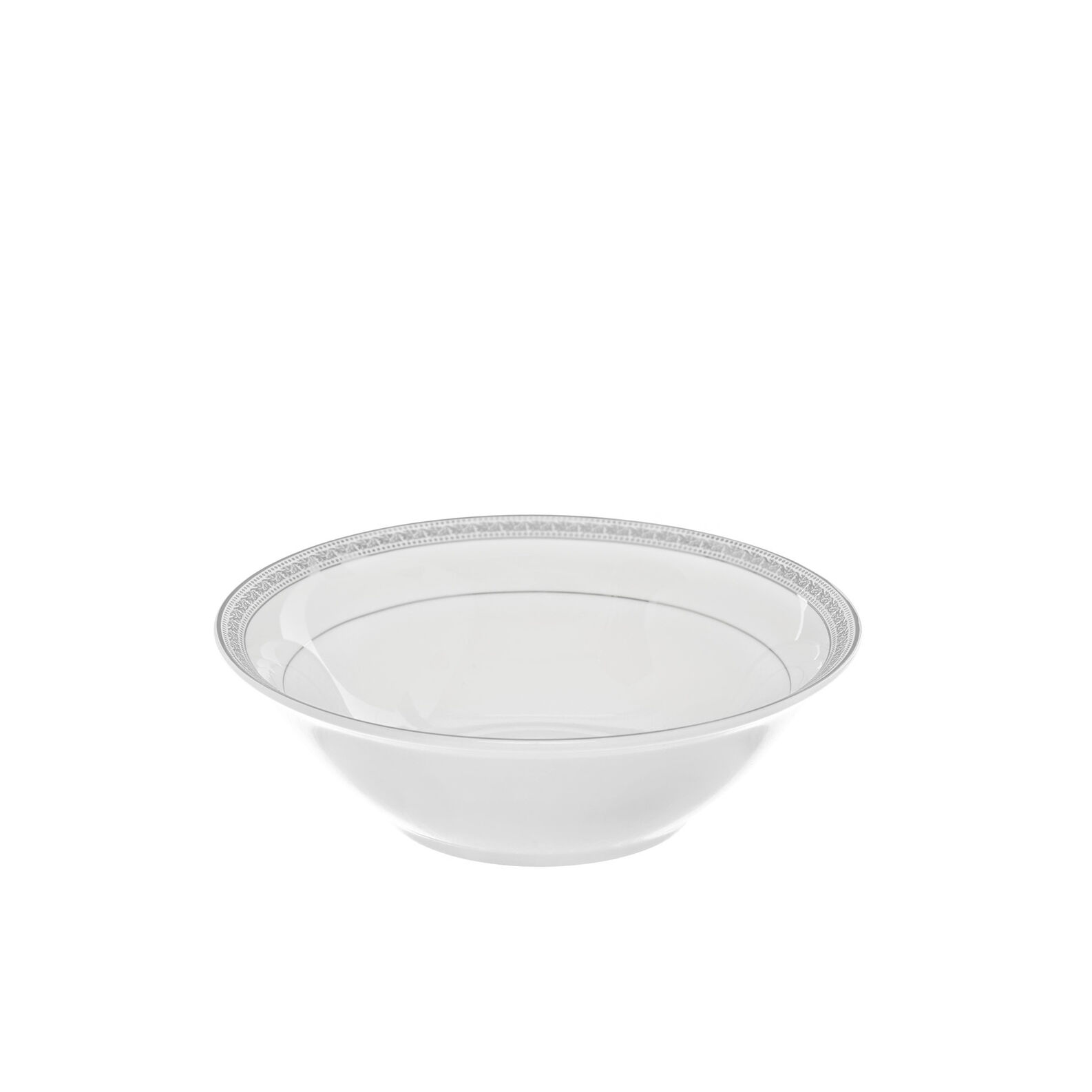 Small bowl in new bone China with decoration