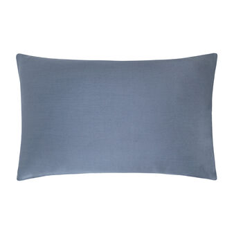 Solid colour pillowcase in Tencel satin