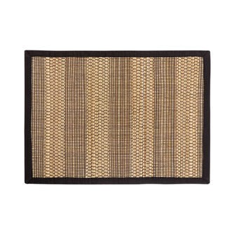 Abaca table mat with edge in cotton