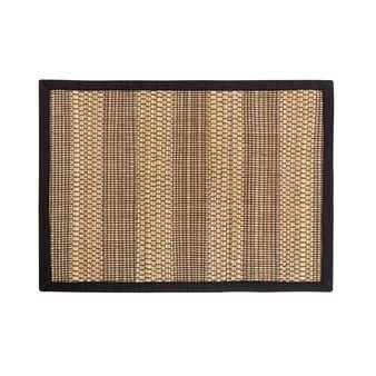 Tovaglietta abaca bordo in cotone