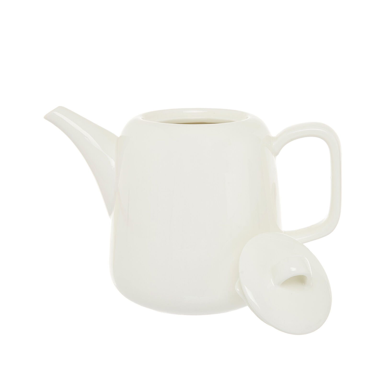 Solid color new bone china teapot