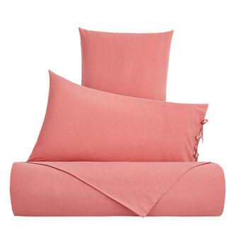 Solid colour 100% cotton duvet cover
