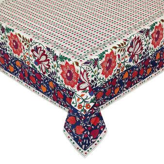 Tovaglia puro cotone stampa piazzata floreale