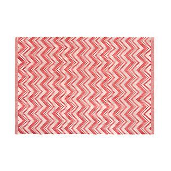 Tovaglietta puro cotone motivo zigzag